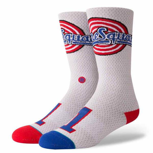 c8770af592e Stance Bugs Bunny  1 Tune Squad Space Jam Jersey Socks White