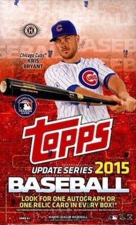 2015 Topps Update Baseball Hobby Box MLB
