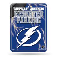 Tampa Bay Lightning Reserved Parking NHL Metallschild
