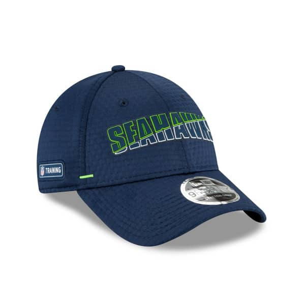 Seattle Seahawks 2020 Summer Sideline New Era Stretch-Snap 9FORTY NFL Cap