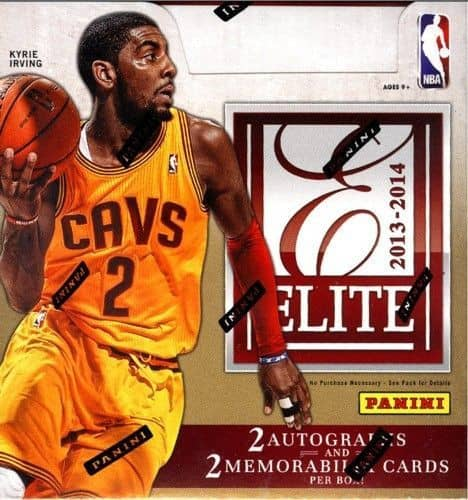 2013/14 Panini Elite Basketball Hobby Box NBA