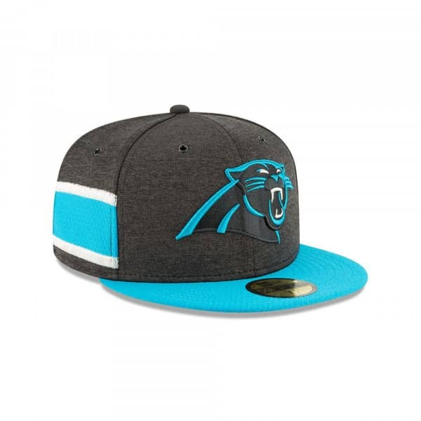 Carolina Panthers 2018 NFL Sideline 59FIFTY Fitted Cap Home