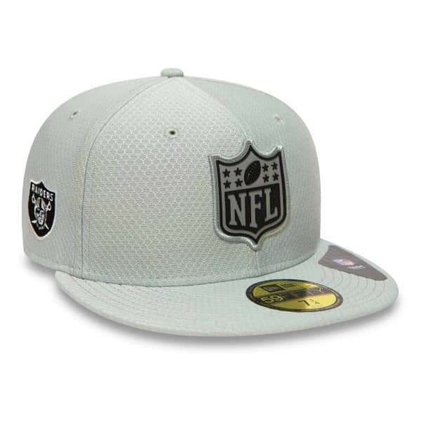 New Era Oakland Raiders League Logo 59FIFTY Fitted NFL Cap  a001192a8