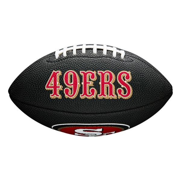 San Francisco 49ers NFL Mini Football Schwarz