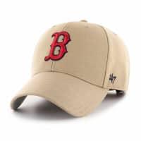 Boston Red Sox MVP Adjustable MLB Cap Khaki