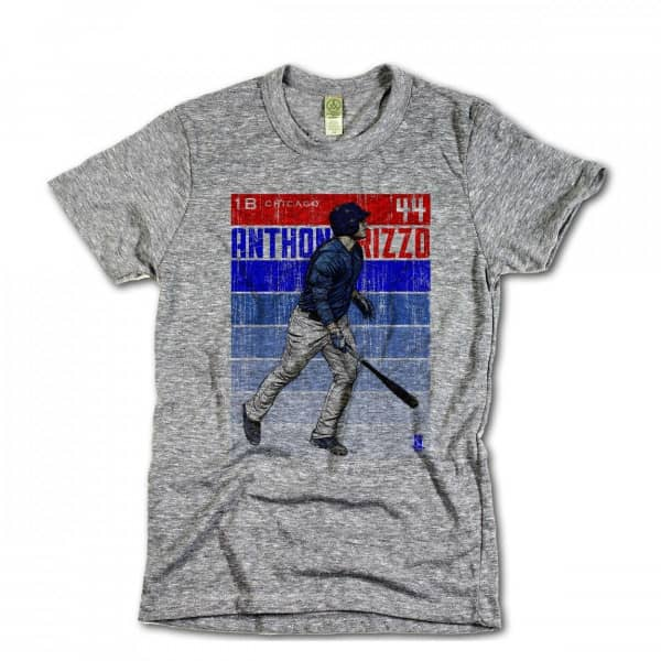 super popular aed19 a75b9 Chicago Cubs Anthony Rizzo Sketch MLB T-Shirt