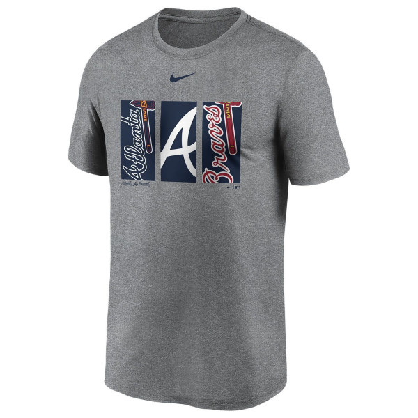 Atlanta Braves Triptych Nike Legend MLB T-Shirt