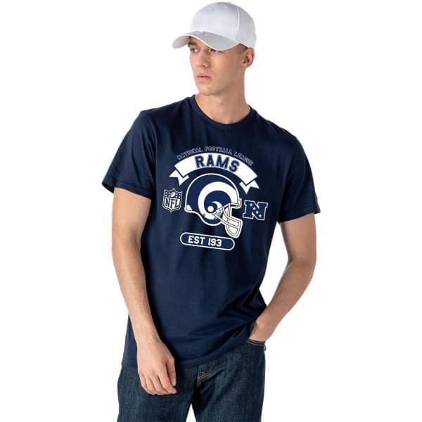 Los Angeles Rams 2020 Helmet Graphic NFL T-Shirt