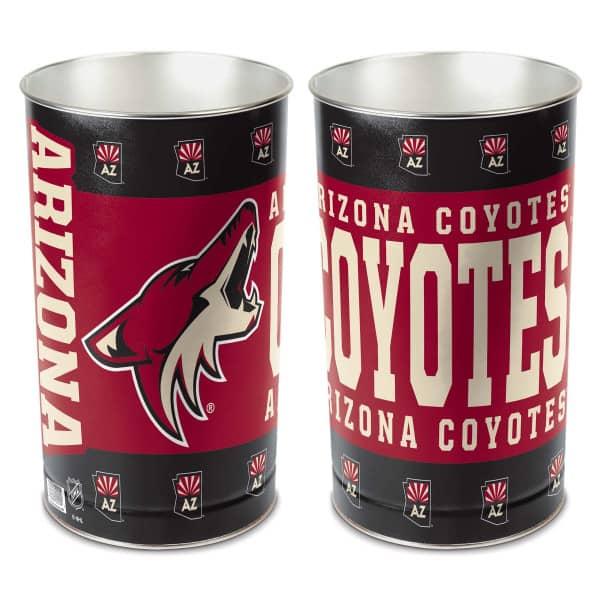 Arizona Coyotes Metall NHL Papierkorb