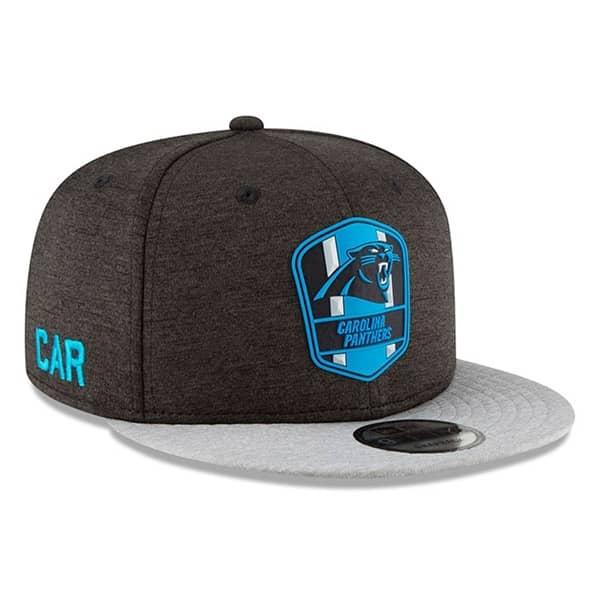 Carolina Panthers 2018 NFL Sideline 9FIFTY Snapback Cap Road