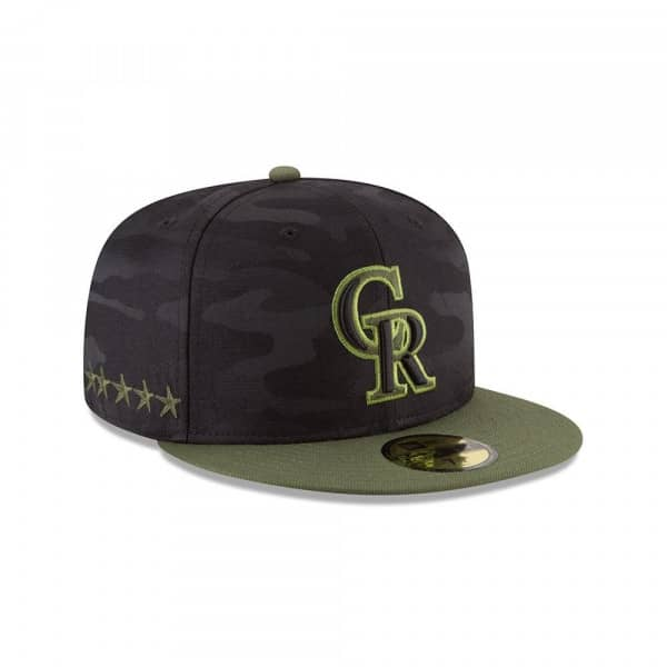 Colorado Rockies 2018 Memorial Day 59FIFTY Fitted MLB Cap