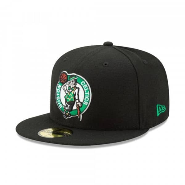 Boston Celtics Primary Logo 59FIFTY Fitted NBA Cap Schwarz