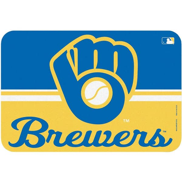 Milwaukee Brewers Team Logo MLB Fußmatte
