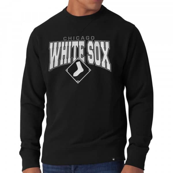 Chicago White Sox Co-Sign Crewneck MLB Sweatshirt Schwarz