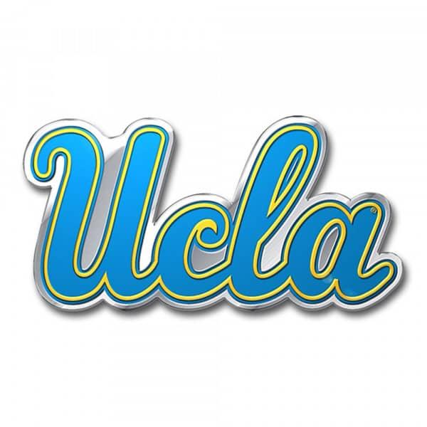 UCLA Bruins Aluminium Color NCAA Team Emblem