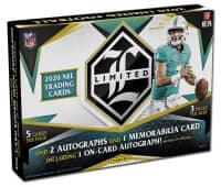2020 Panini Limited Football Hobby Box NFL