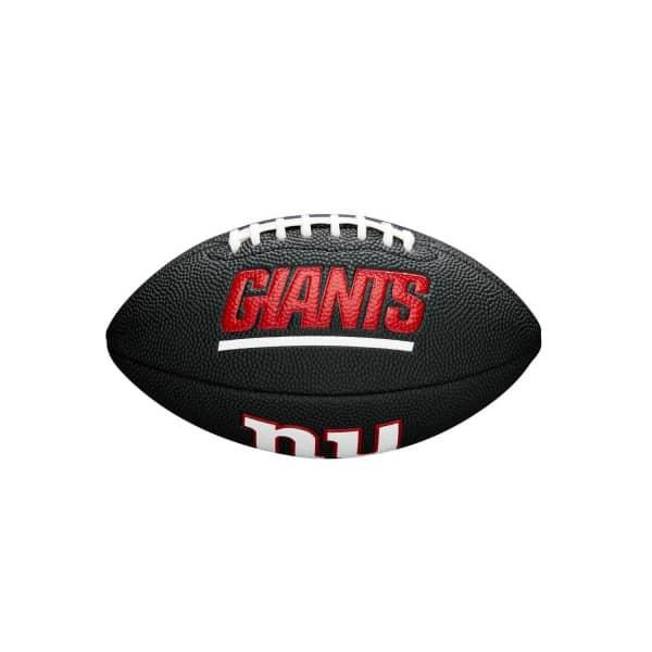 New York Giants NFL Mini Football Schwarz