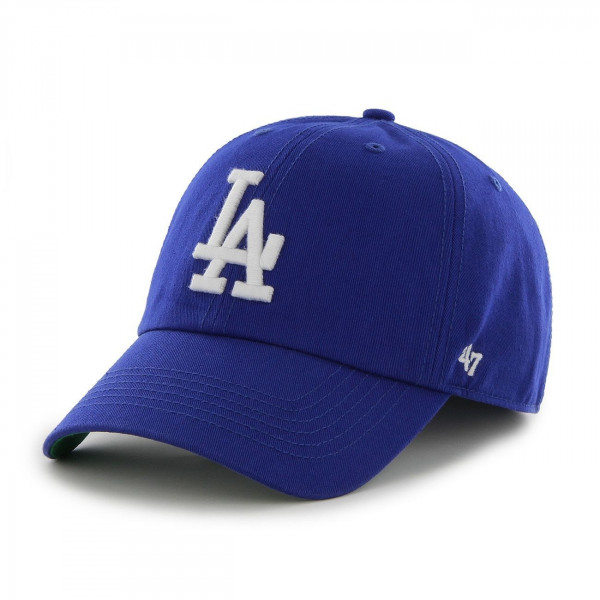 best website b2195 3e3c6  47 Brand Los Angeles Dodgers Franchise Fitted MLB Cap Blue   TAASS.com Fan  Shop