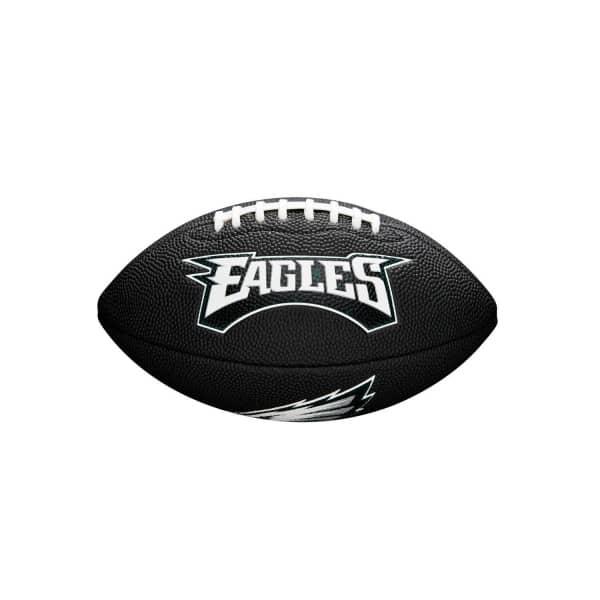 Philadelphia Eagles NFL Mini Football Schwarz