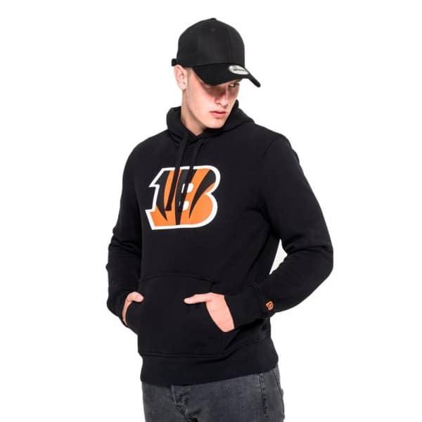 Cincinnati Bengals Logo Hoodie NFL Sweatshirt Schwarz