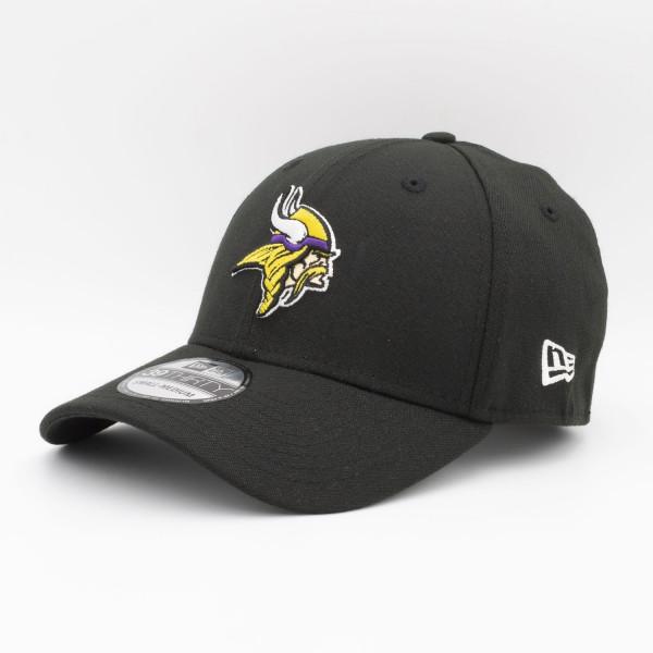 Minnesota Vikings New Era NFL 39THIRTY Flex Cap Schwarz