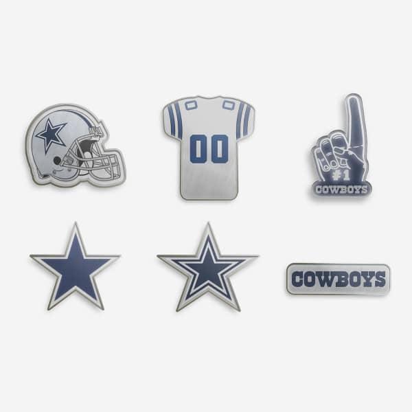 Dallas Cowboys NFL Anstecker 6er Set