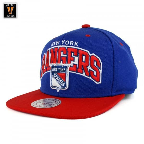 New York Rangers Team Arch Snapback NHL Cap