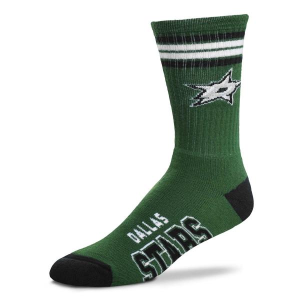 Dallas Stars 4 Stripe Crew NHL Socken Grün
