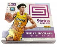2017/18 Panini Status Basketball Hobby Box NBA
