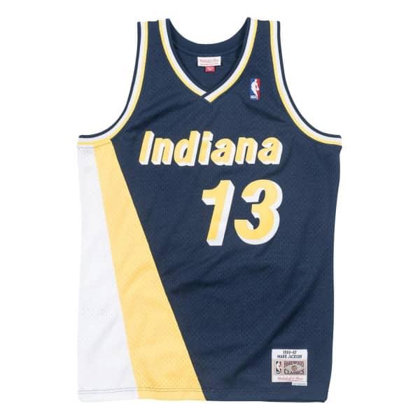Mark Jackson #13 Indiana Pacers 1996-97 Swingman NBA Trikot