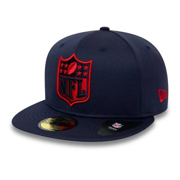 New England Patriots NFL Shield 59FIFTY Fitted NFL Cap