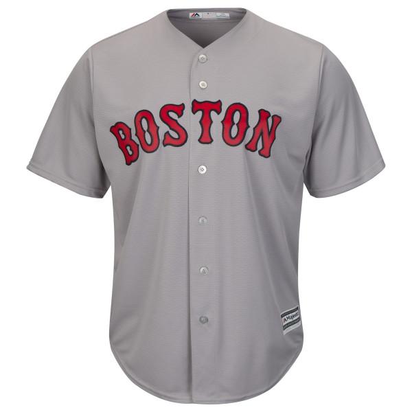 b7c63dc5a Majestic Boston Red Sox Cool Base MLB Jersey Road Grey