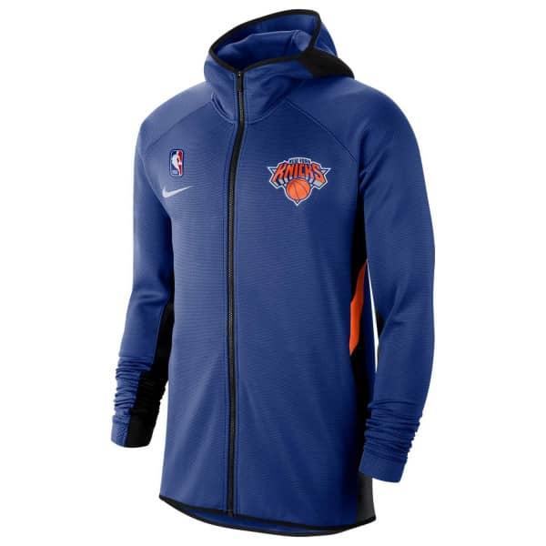 New York Knicks 2019/20 Showtime Therma Flex NBA Full-Zip Hoodie