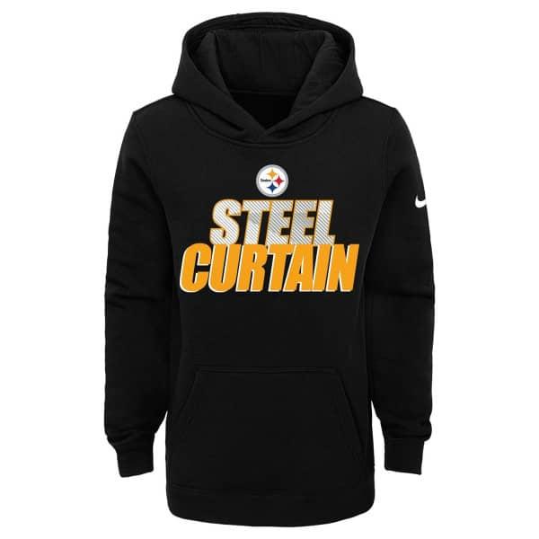 Pittsburgh Steelers Youth 2020 NFL Local Nike Club Hoodie (KINDER)
