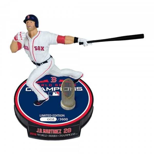 716560a0 J.D. Martinez Boston Red Sox 2018 World Series Champions MLB Action Figur