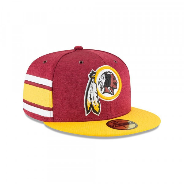 Washington Redskins 2018 NFL Sideline 59FIFTY Fitted Cap Home
