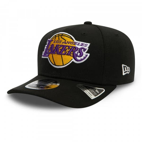 Los Angeles Lakers Team New Era 9FIFTY Stretch-Snap NBA Cap
