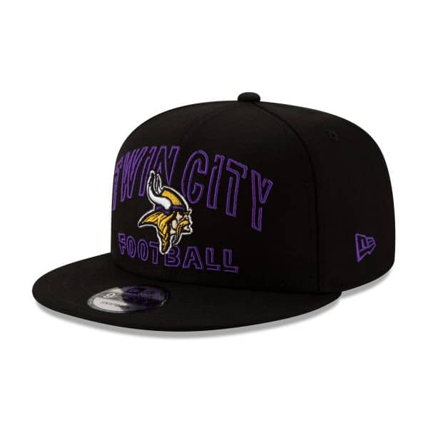 Minnesota Vikings 2020 NFL Draft New Era 9FIFTY Snapback Cap Alternate