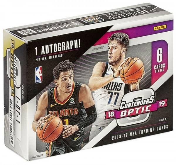 2018/19 Panini Contenders Optic Basketball Hobby Box NBA