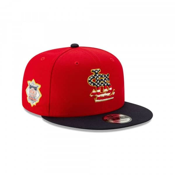 St. Louis Cardinals 4th of July 2019 MLB 9FIFTY Snapback Cap