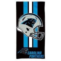 Carolina Panthers Helmet NFL Strandtuch