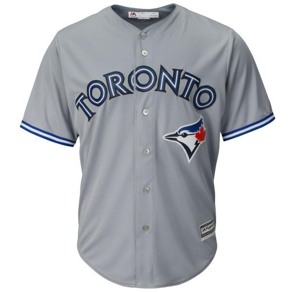 Toronto Blue Jays Cool Base MLB Trikot Road Grau