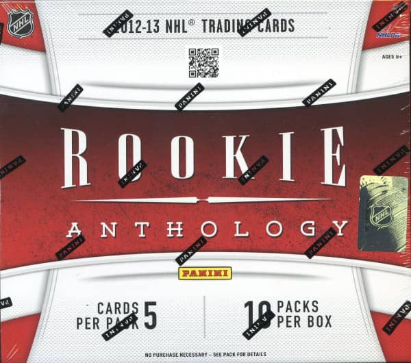2012/13 Panini Rookie Anthology Hockey Hobby Box NHL