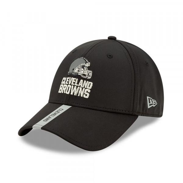 Cleveland Browns 2020 NFL OTA New Era Stretch-Snap 9FORTY Cap