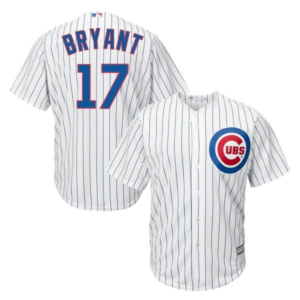 Kris Bryant #17 Chicago Cubs Cool Base MLB Trikot Home