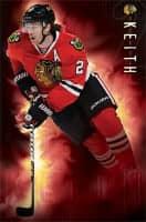Chicago Blackhawks Duncan Keith Superstar NHL Poster RP13129