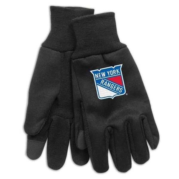 New York Rangers Technology Touch-Screen NHL Handschuhe
