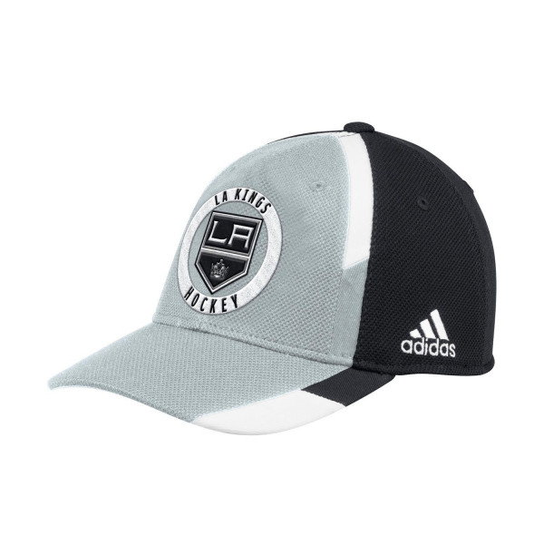 new product a72d5 d5d04 adidas Los Angeles Kings Echo Flex Fit NHL Cap   TAASS.com Fan Shop