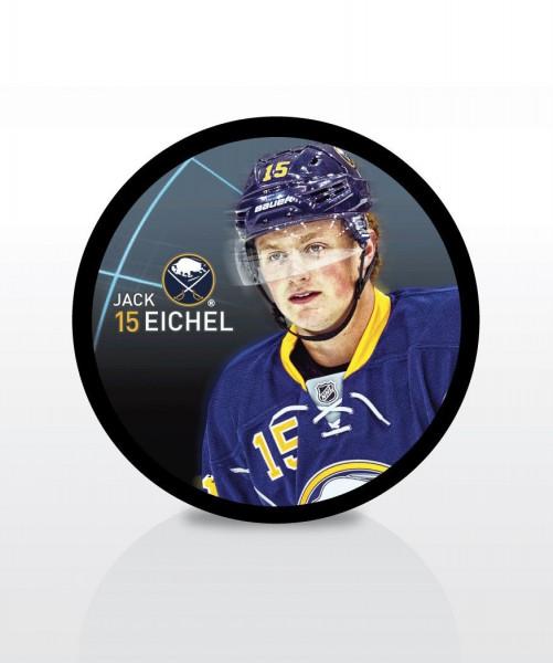 Jack Eichel Buffalo Sabres Star Player NHL Puck