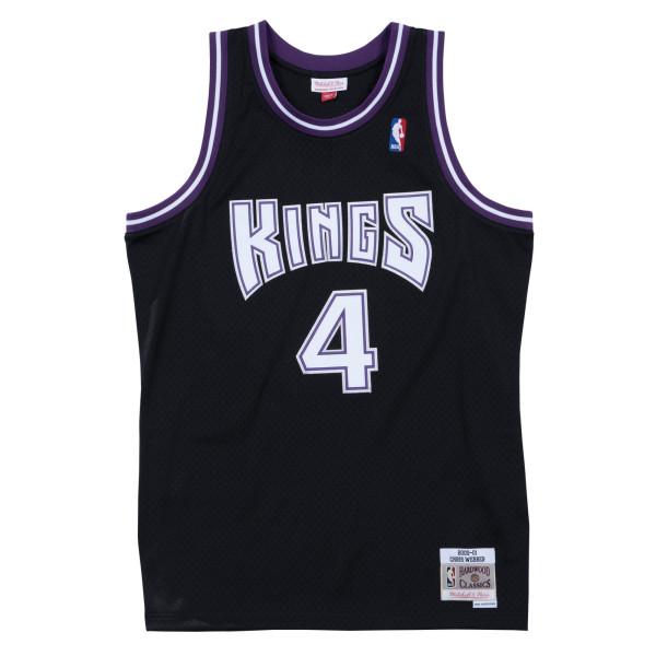 Chris Webber #4 Sacramento Kings 2000-01 Swingman NBA Trikot